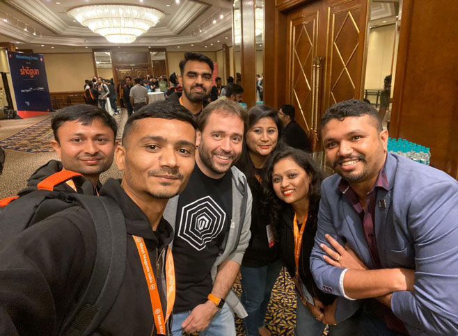 Pictures From Meet Magento India 2020