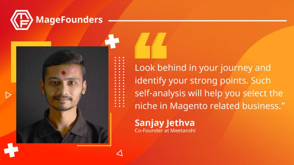 Sanjay Jethva of Meetanshi